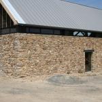 Mur habitation après sablage